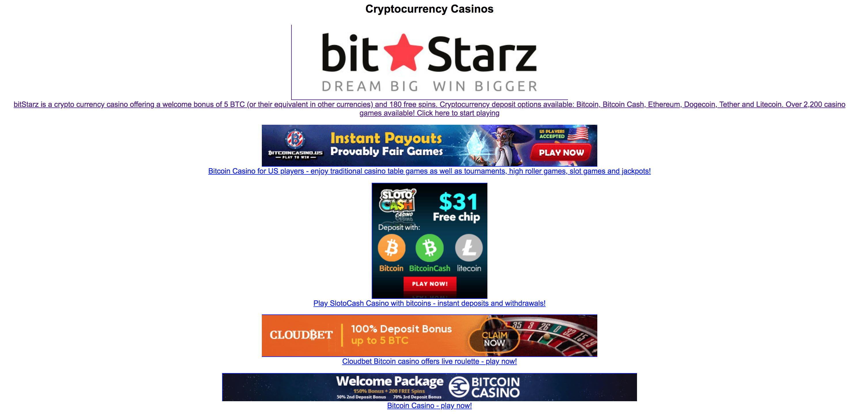 Bitstarz promo code