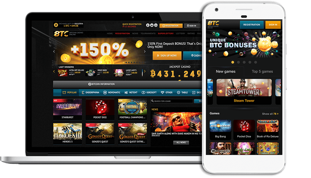 Play bitcoin casino for real money no deposit